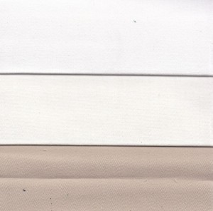 SATIN Lourd blanc